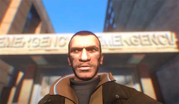 Selfie Mod for GTA4