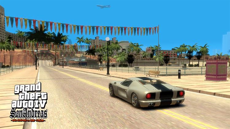 GTA IV: San Andreas Mod Screenshot