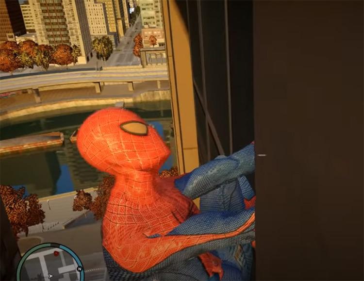 Spiderman IV Mod for GTA4