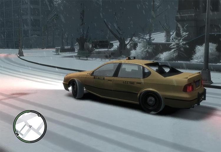 Snow Mod GTA4 Screenshot
