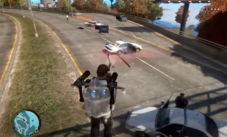Jetpack Mod Screenshot from GTA4