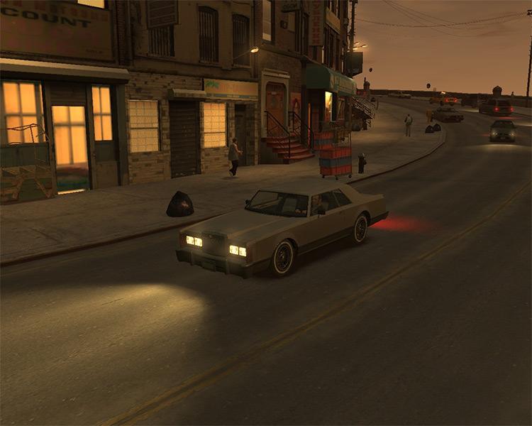 Beta Mod preview - GTA IV
