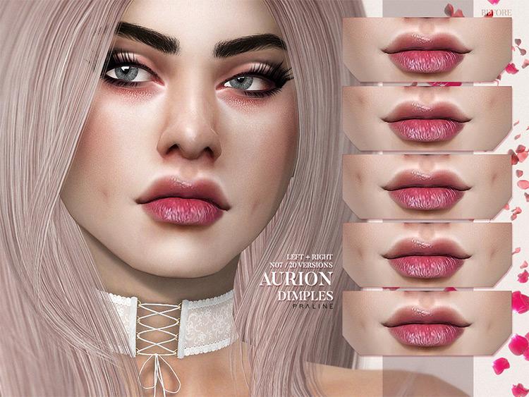 Aurion Dimples CC Pack - TS4