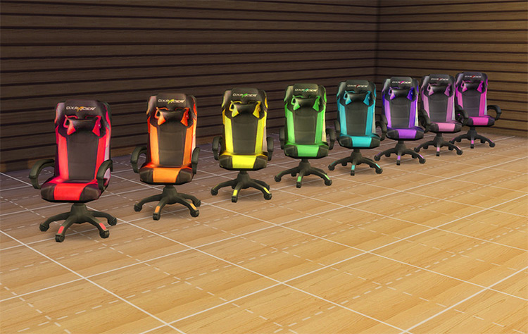 DX Racer Gaming Chair - Sims 4 CC