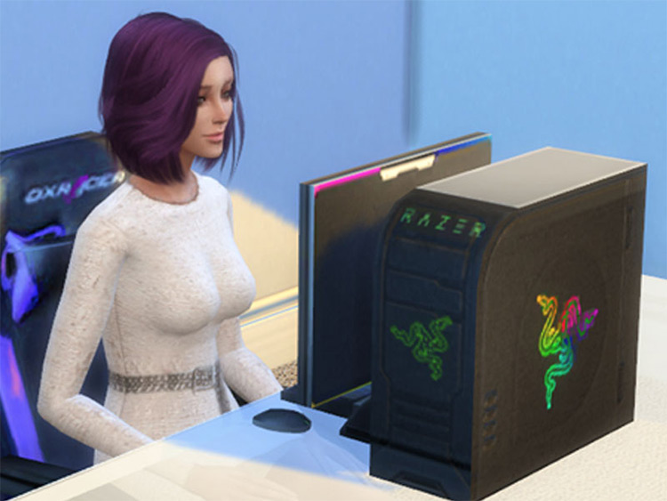 Razer Gaming PC Mod for Sims 4