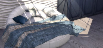 Langon blankets preview TS4 CC