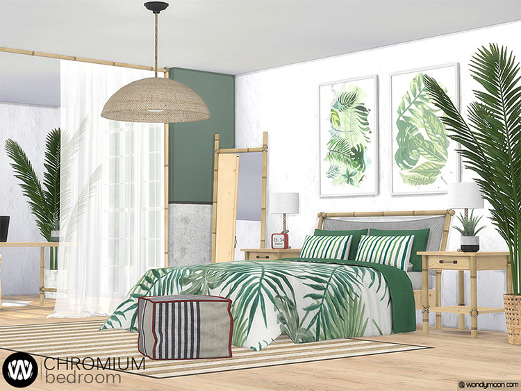 Chromium Bedroom Comforter CC Set