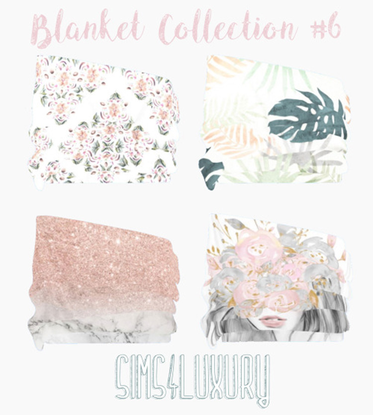 Blanket Collection No6 Sims4 CC
