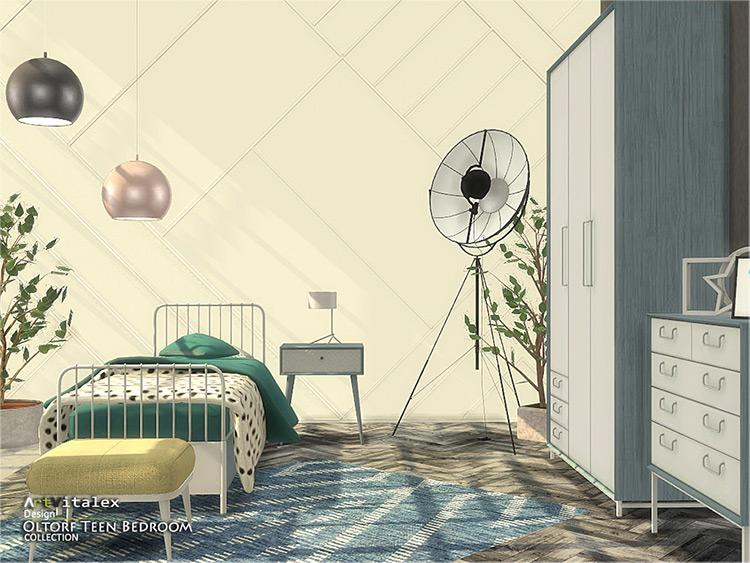 Oltorf Teen Bedroom CC set