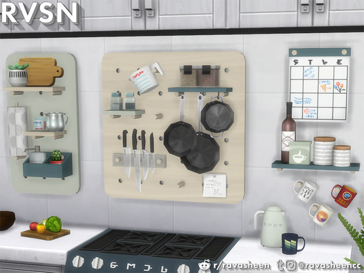 Kitchen Clutter Pack for The Sims 4