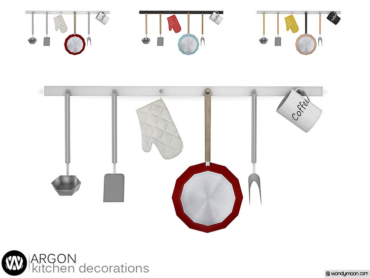 Argon Kitchen Hanger - Sims 4 CC