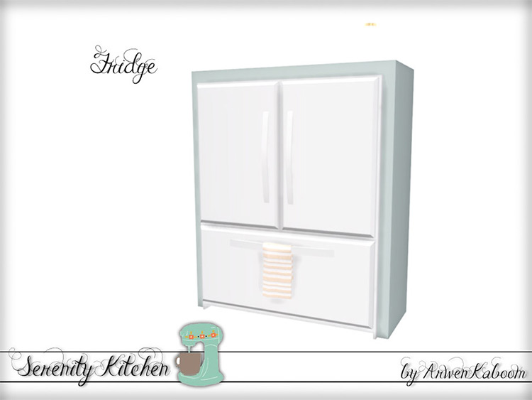 Serenity Fridge Mod - The Sims 4