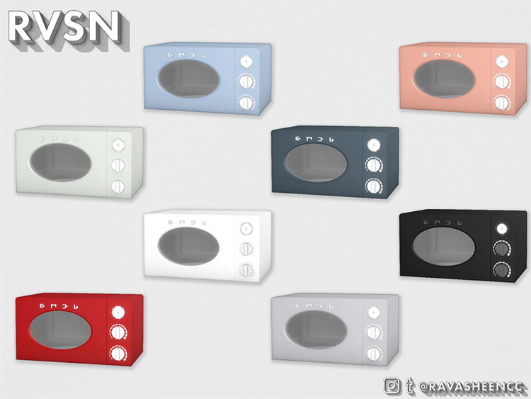 SMEGlish Microwave Mod for Sims 4