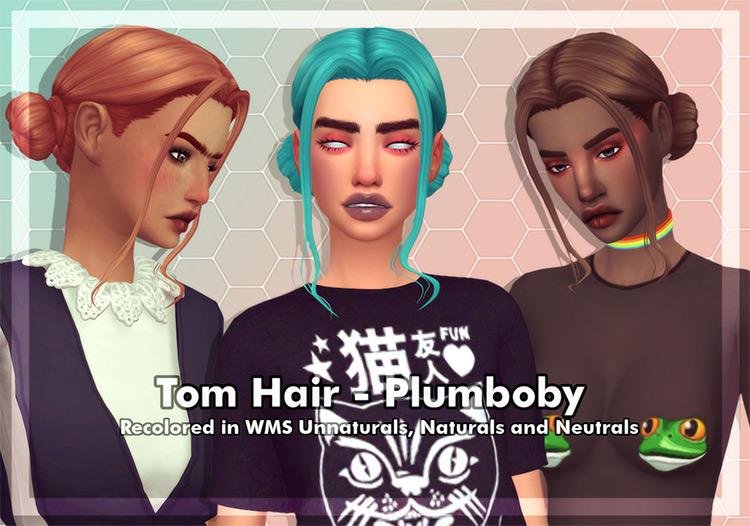 Plumboby Tom Hair Recolor CC