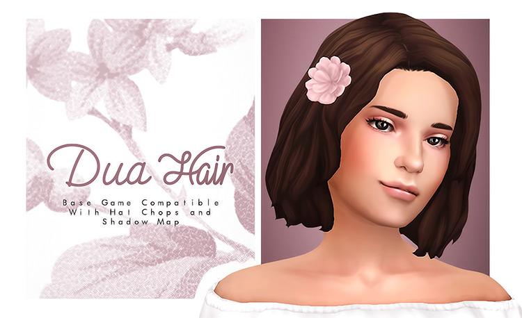 Dua Hair with Flower CC