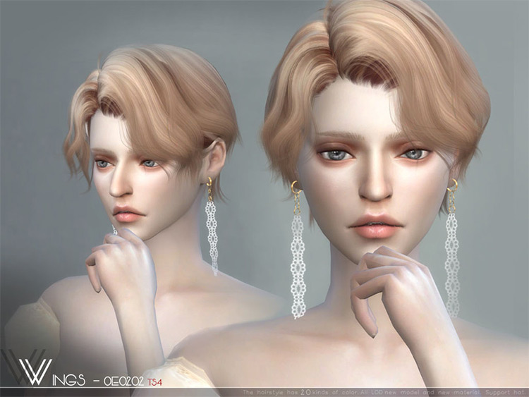 Wingsims wispy girls hairdo CC
