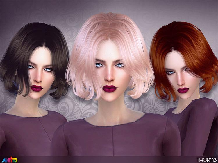 Anto Thorns hairdo for Sims4