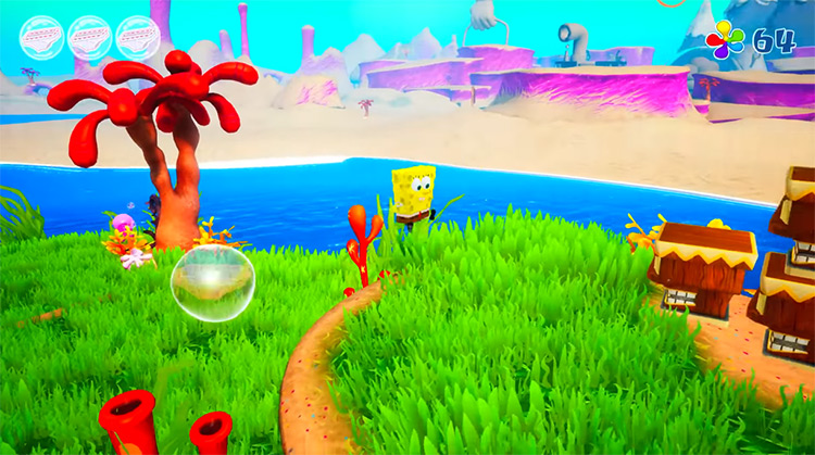 SpongeBob SquarePants: BFBB Rehydrated HD Game Screenshot