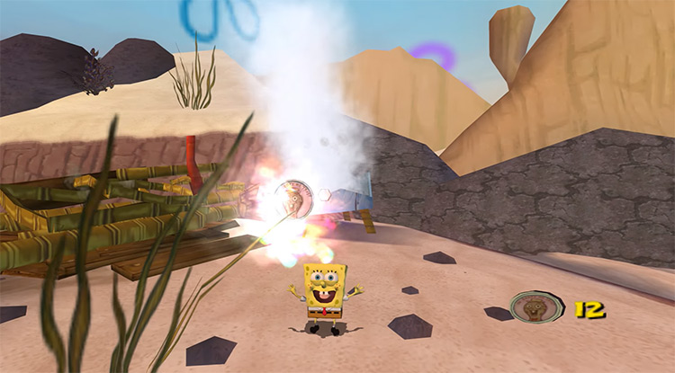 The SpongeBob SquarePants Movie game screenshot