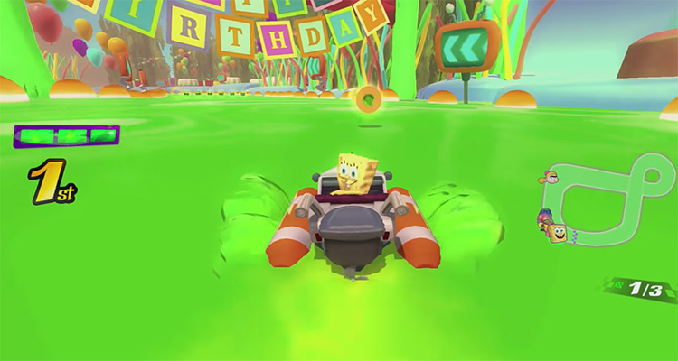 Nickelodeon Kart Racers screenshot