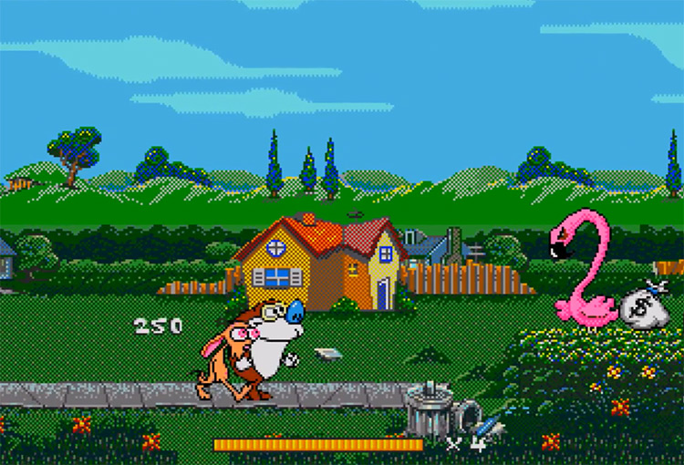 The Ren & Stimpy Show: Stimpy's Invention Sega Genesis screenshot