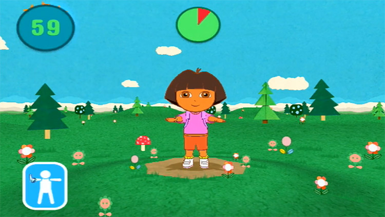 Nickelodeon Fit Nintendo Wii Screenshot