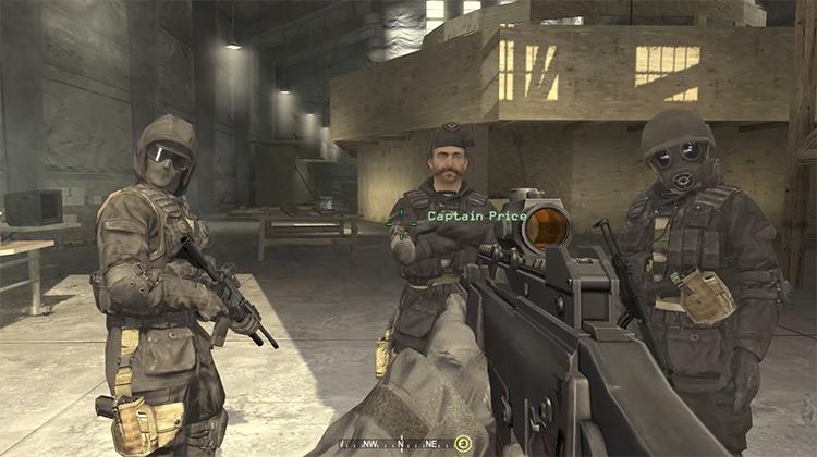 Call of Duty 4: Modern Warfare gameplay