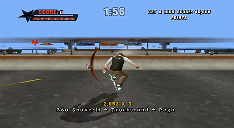 Tony Hawk's Underground 2003 screenshot