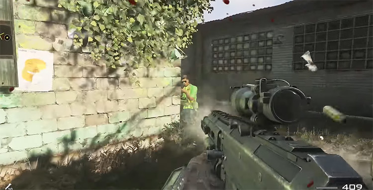 Call of Duty: Modern Warfare 2 gameplay screenshot