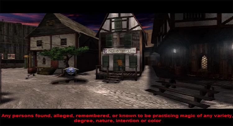 Enchanters guild in Zork: Grand Inquisitor screenshot