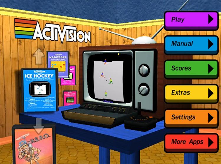 Activision Anthology Game Menu screenshot