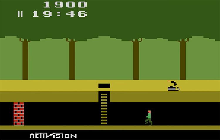 Pitfall! gameplay screenshot
