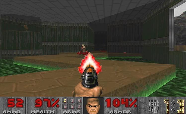 DOOM 1993 gameplay