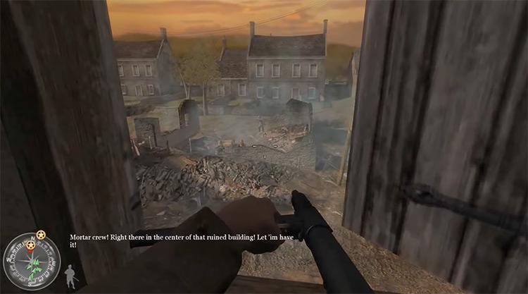 Call of Duty 2 gameplay screenshot