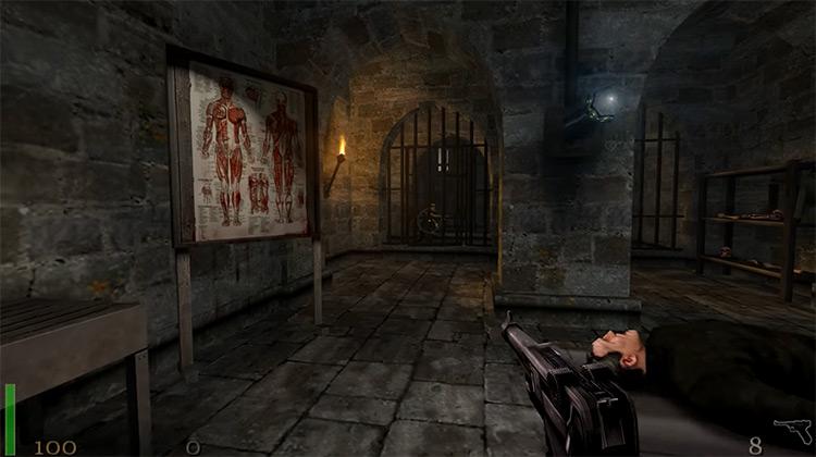 Return to Castle Wolfenstein game screenshot