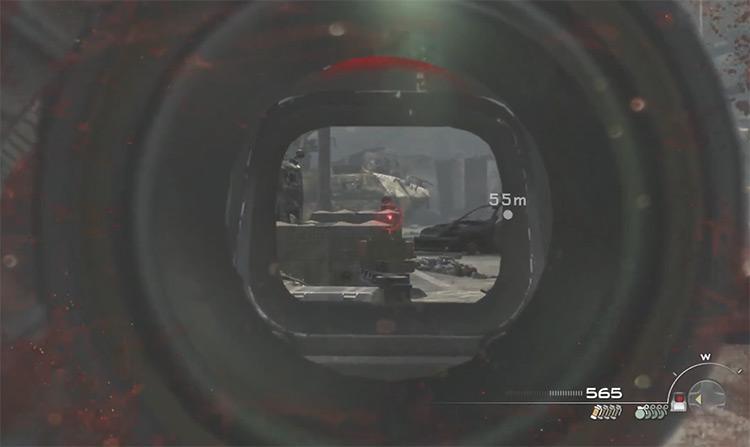 Sniping in Call of Duty: Modern Warfare 3