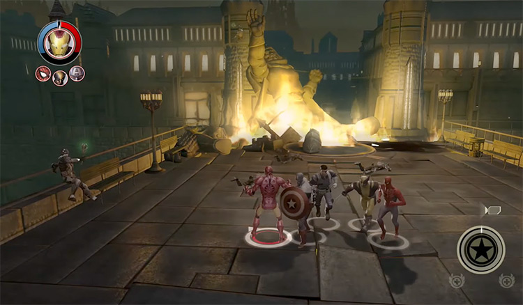 Marvel: Ultimate Alliance 2 gameplay