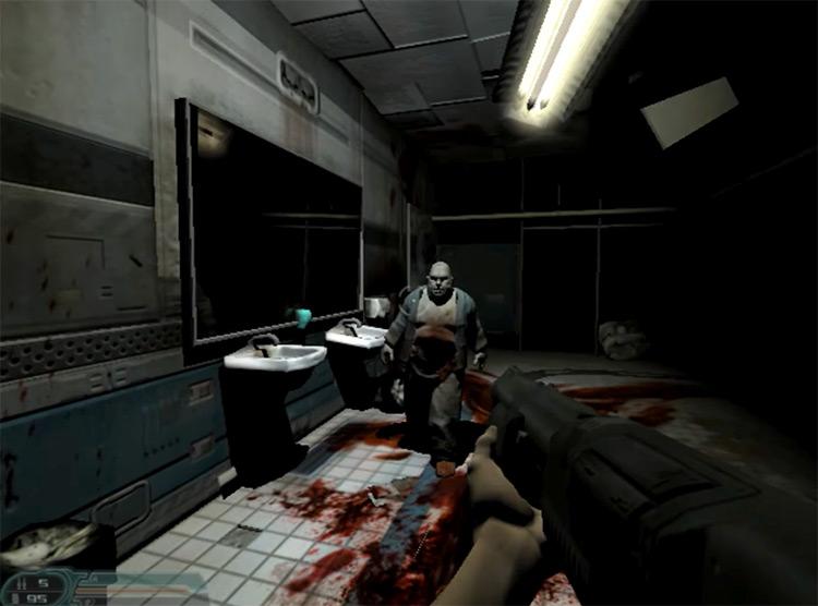 DOOM 3 gameplay screenshot