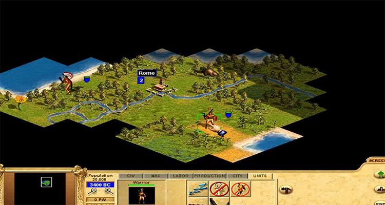 Civilization: Call to Power gameplay