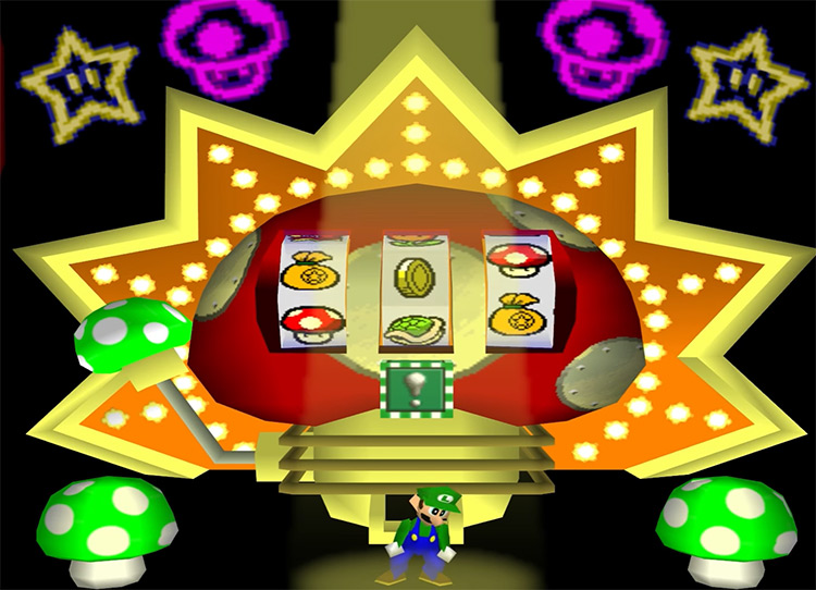 Mario Party end of stage reward - game screenshot