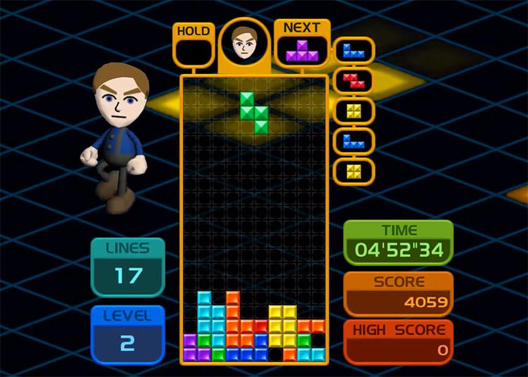 Tetris Party 2008 gameplay