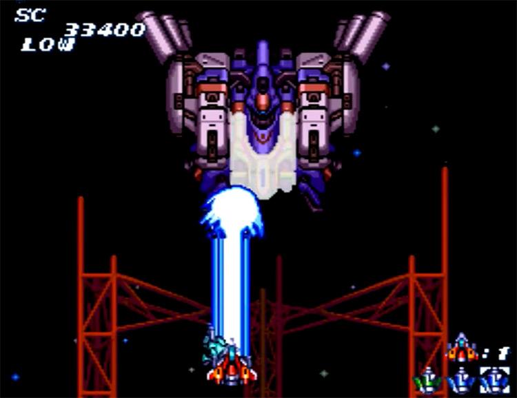 Soldier Blade gameplay screenshot