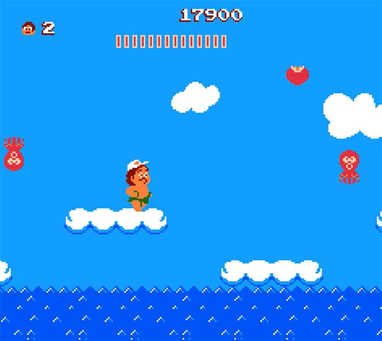 Adventure Island 1987 gameplay screenshot