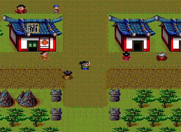 Tengai Makyou: Ziria game screenshot