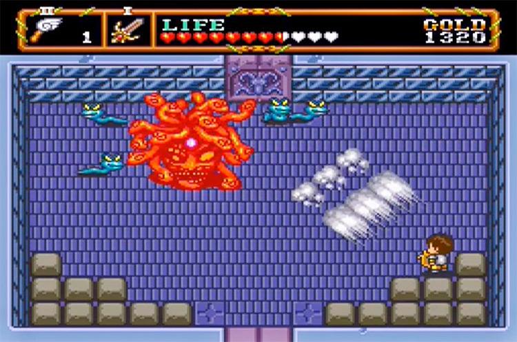 Neutopia II gameplay screenshot