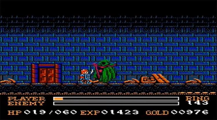 Ys III: Wanderer from Ys gameplay screenshot