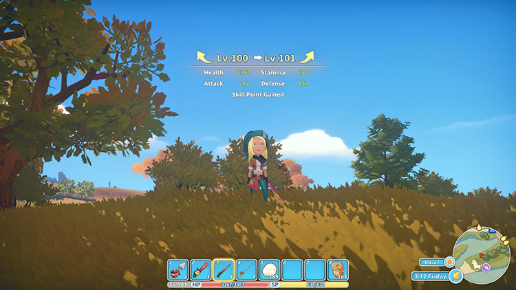 Infinite Levels My Time at Portia Mod