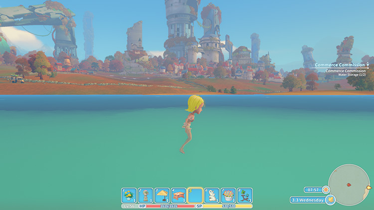 Swim My Time at Portia Mod screenshot