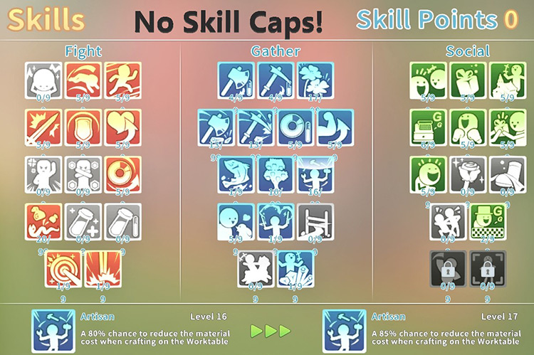 JustSomeCheatMods MTaP skill menu