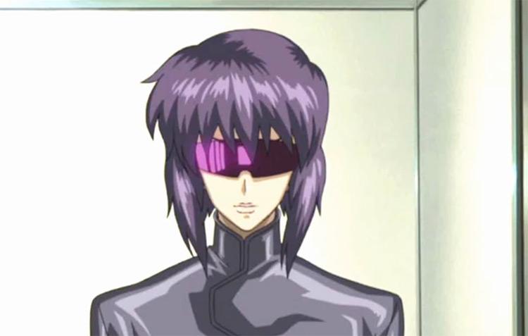Motoko Kusanagi in Ghost in the Shell anime